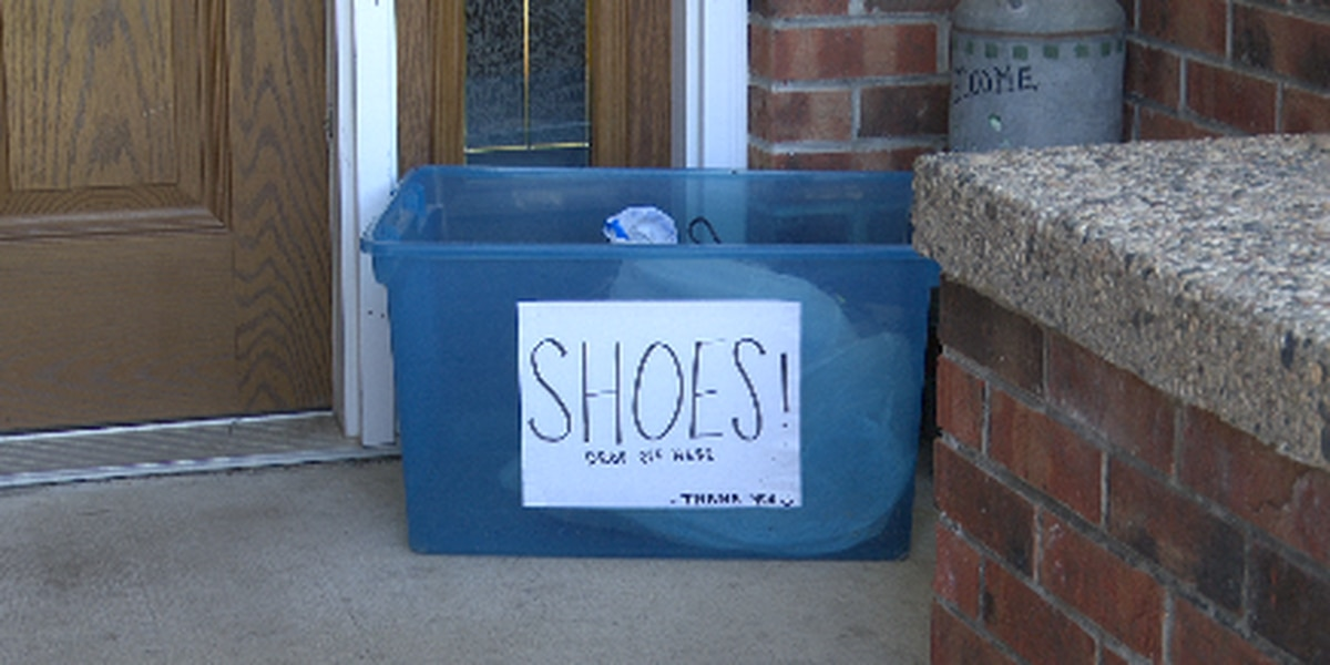 A trio of college students initiate shoe drive for countries in need