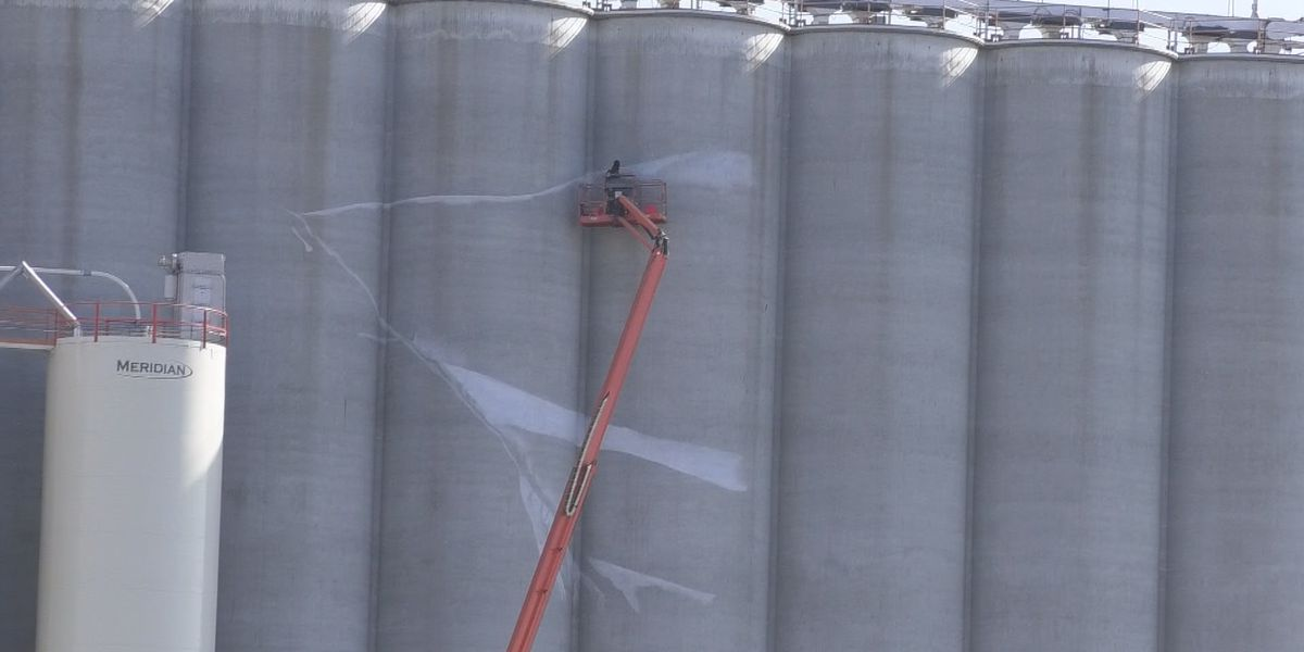 Silo Art painting begins
