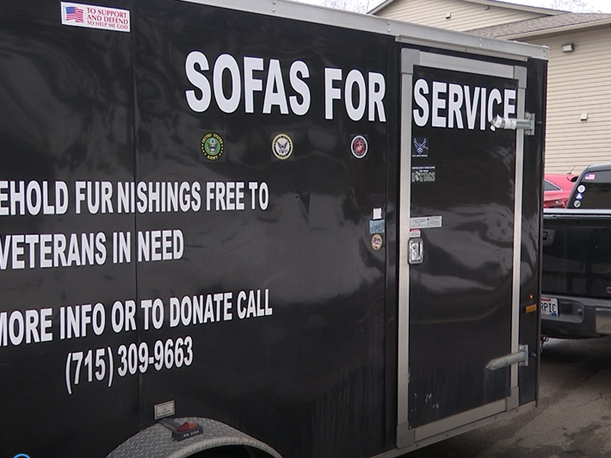Sofas for Service is helping veterans in the area