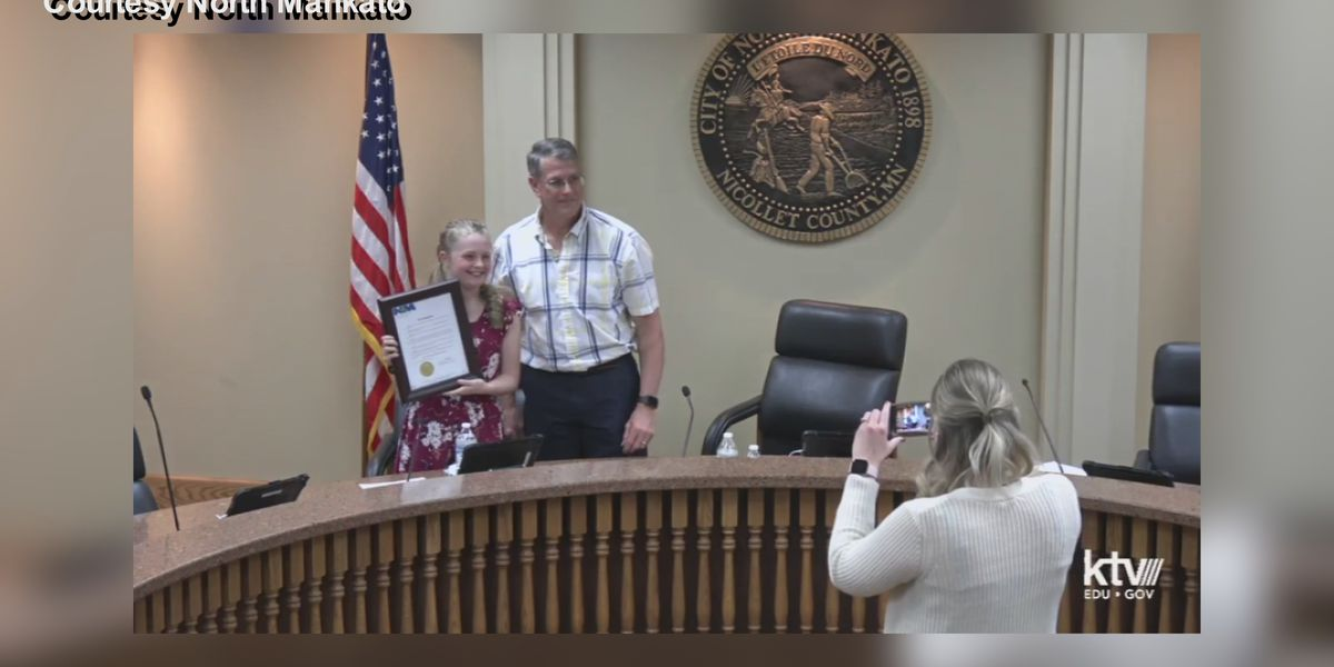 North Mankato sixth grader wins Mayor for a Day contest