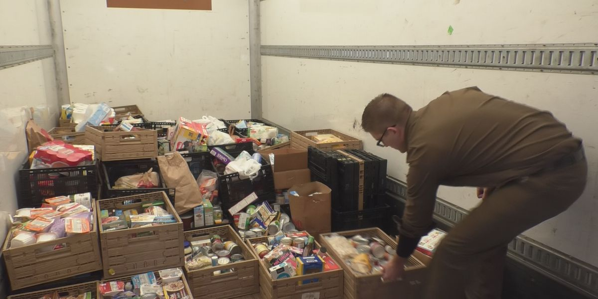 UPS delivers food from schools to ECHO