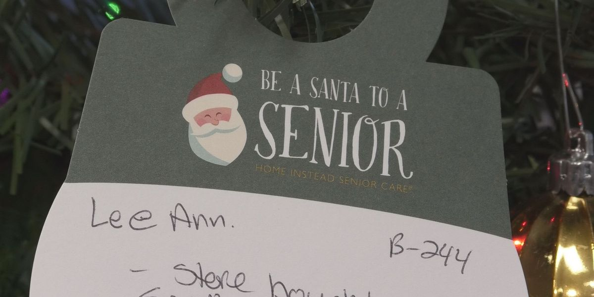 Give back this holiday season by becoming a Santa for a senior