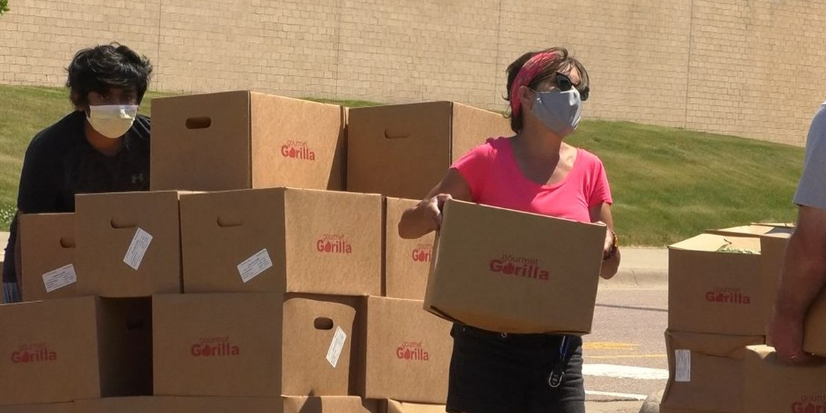 Martin County residents receive large free food drop as part of COVID-19 relief