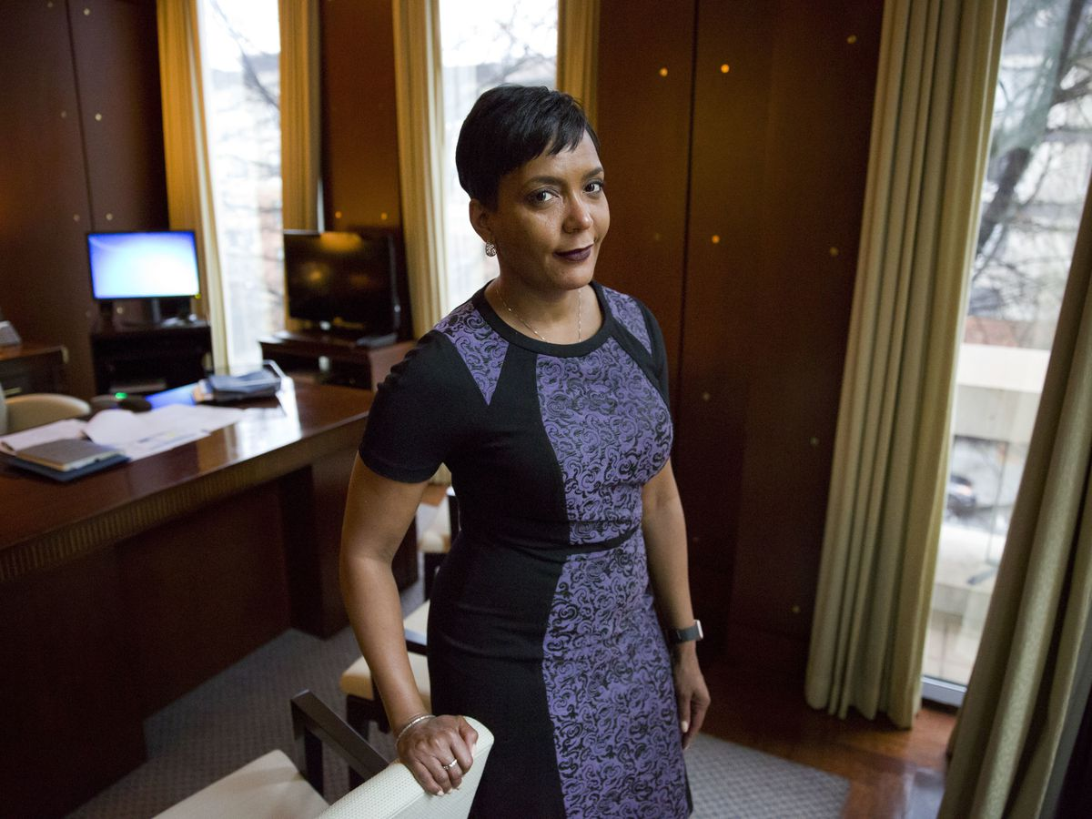 In surprise, Atlanta Mayor Bottoms won't seek a second term