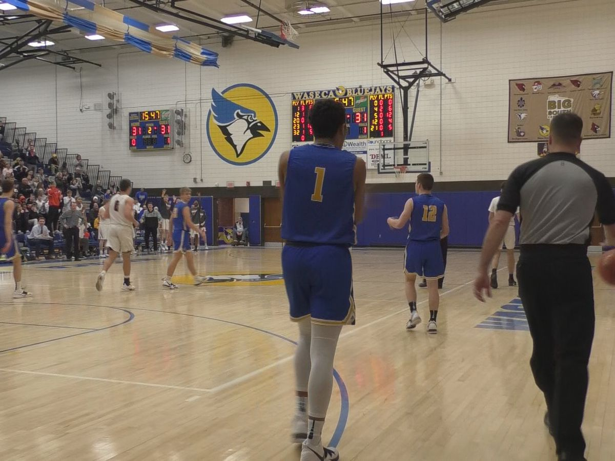 Waseca claims the Big South Conference championship over Marshall