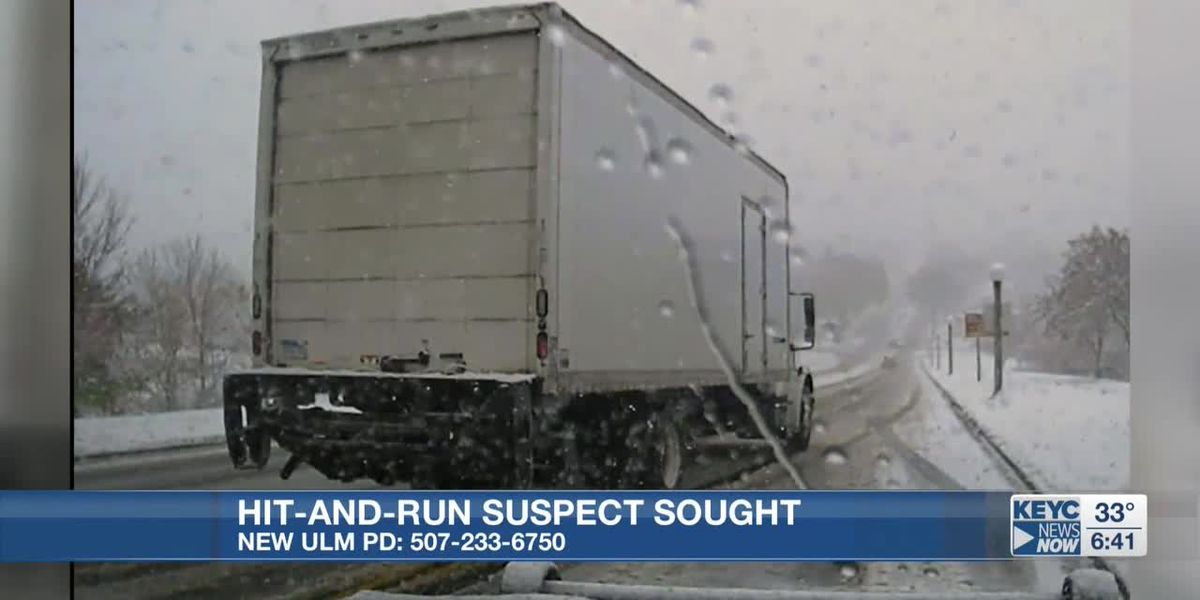 New Ulm Police seek hit-and-run suspect