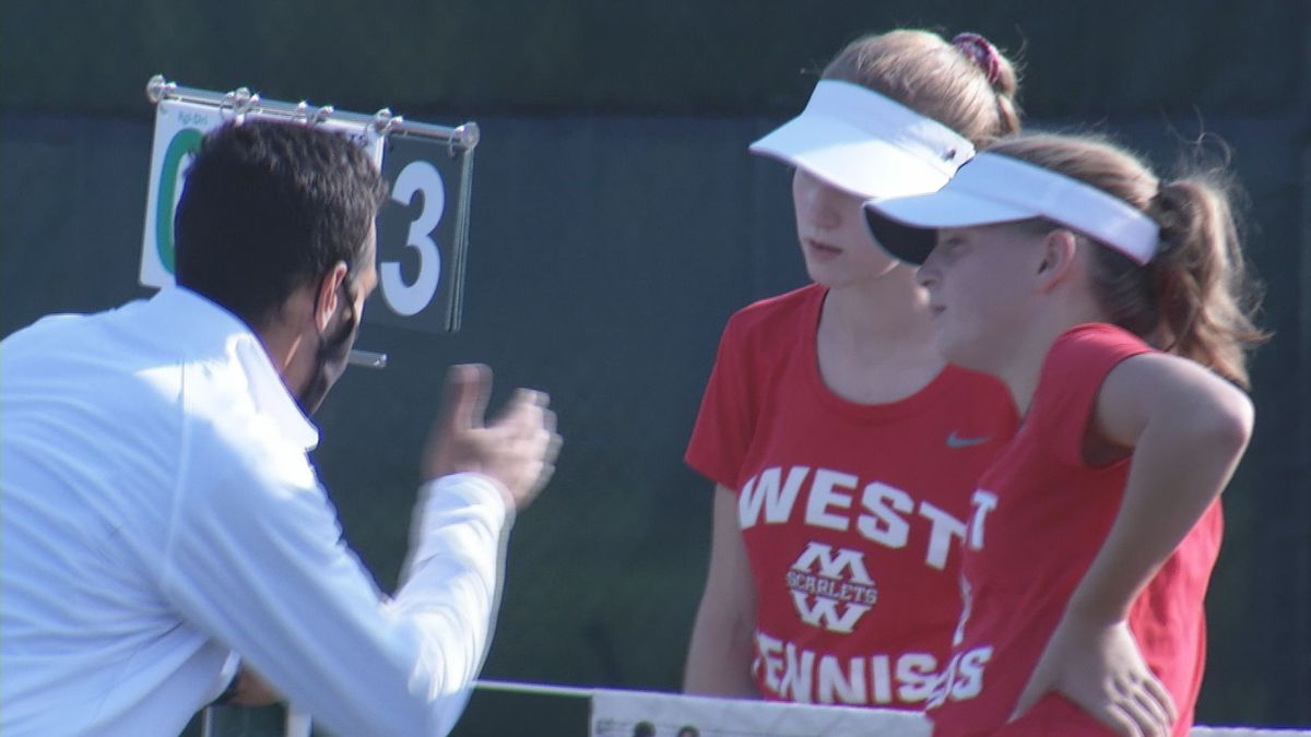Mankato West wins rivalry match over Cougars