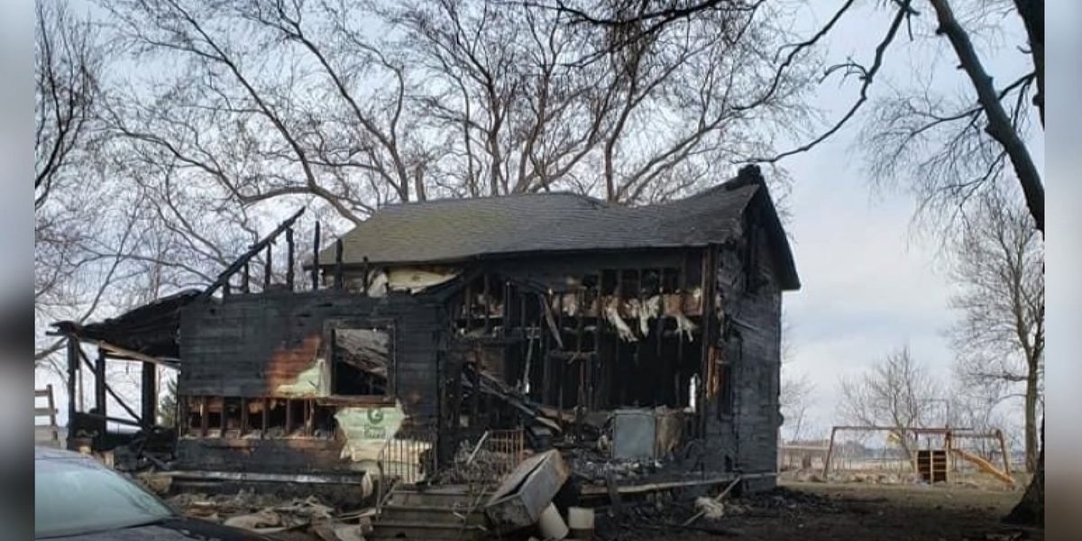 Go Fund Me created for family that lost home in fire