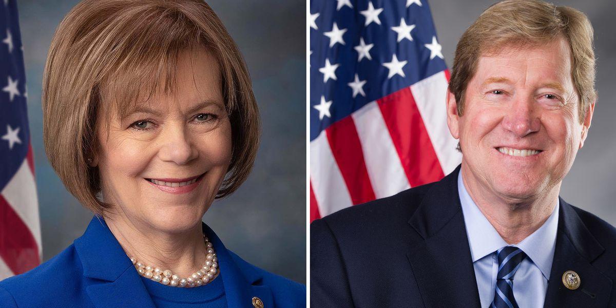 Smith, Lewis make their case for U.S. Senator as Election Day nears