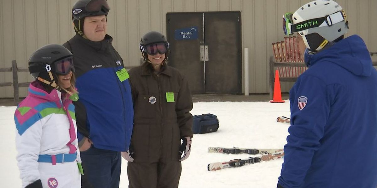 KEYC News 12 This Morning visits Mt. Kato for skiing; learning the ropes before hitting the slopes