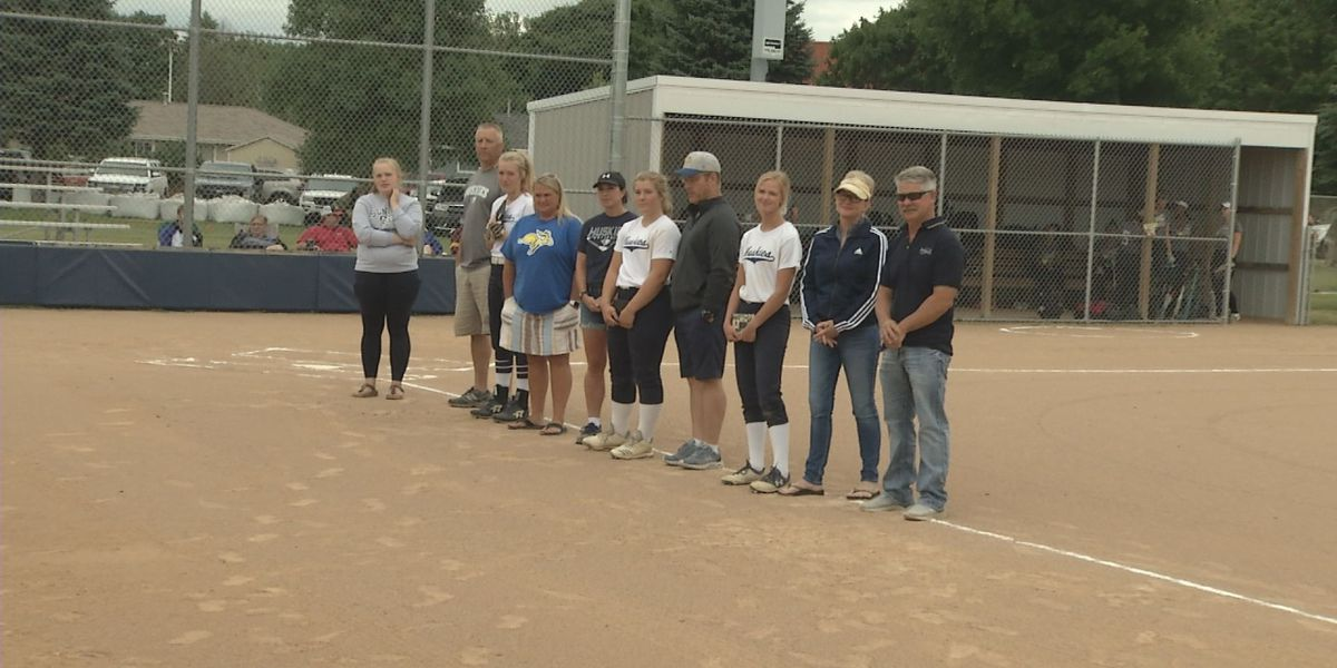 JCC seniors suit up for one final softball game
