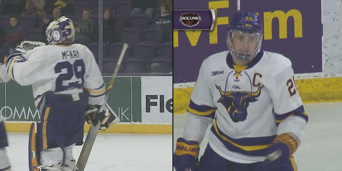 Michaelis named WCHA Player of the Year; Michaelis, McKay Hobey Baker top 10 finalists