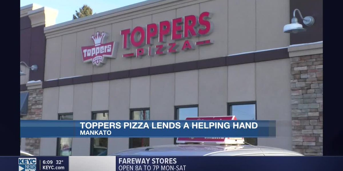 Toppers Pizza assists worrying families