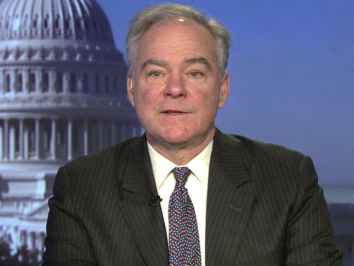 Sen. Kaine, wife have coronavirus antibodies, indicating earlier infection