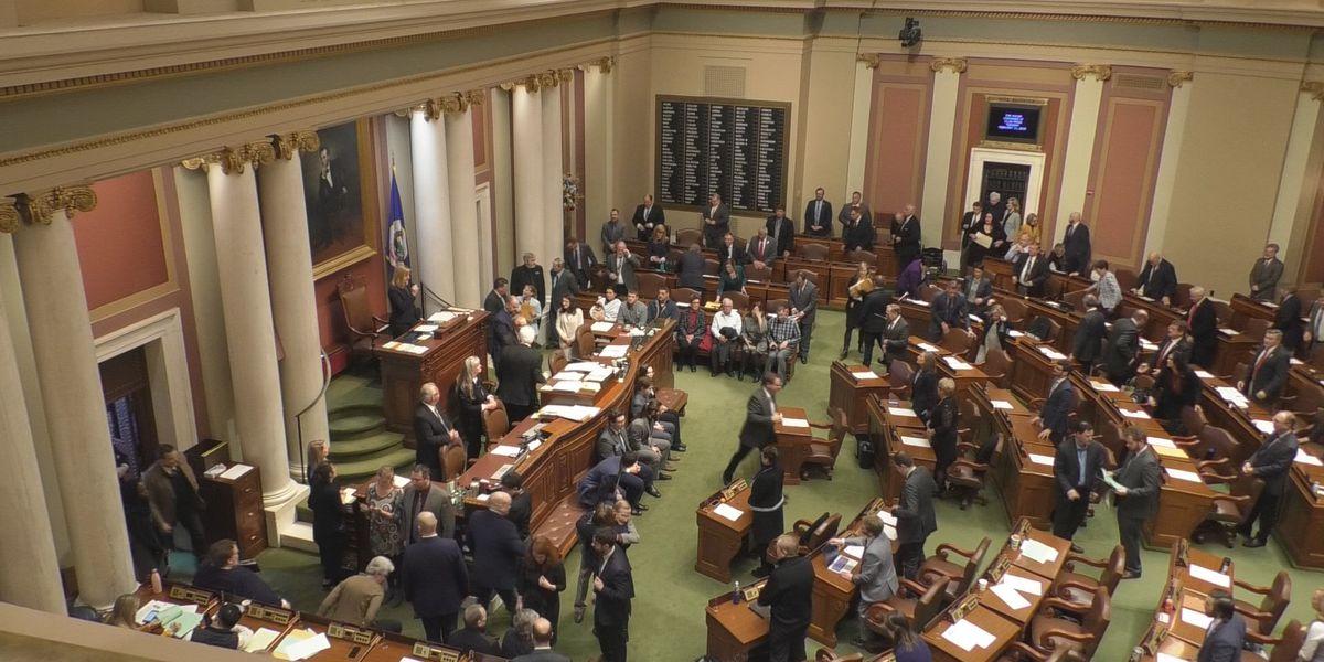 Minnesota State Legislature back in session