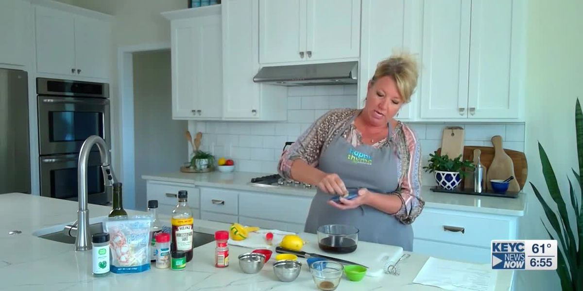 Happy Thyme Cooking shares marinade recipes from home kitchen