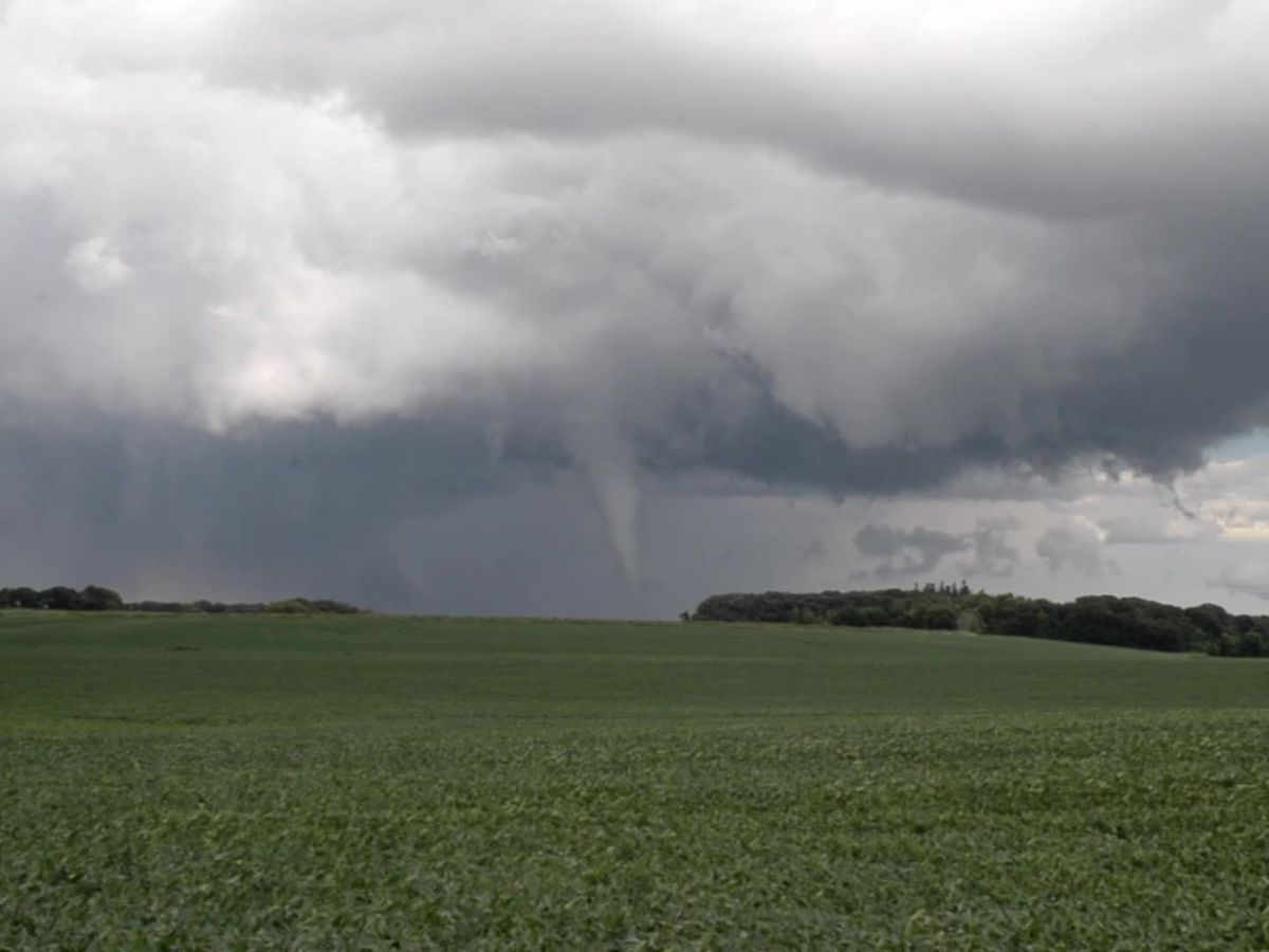 Severe weather threatened Southern Minnesota Tuesday