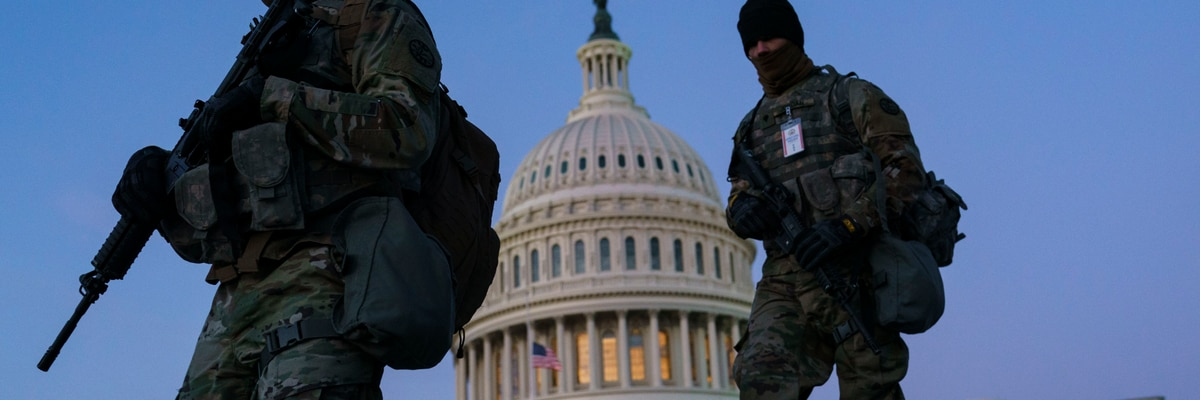 More National Guard forces going to Washington, DC