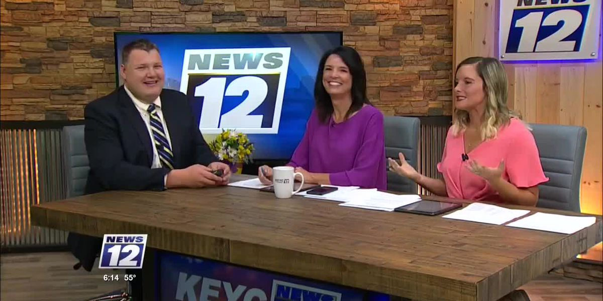KEYC News 12 This Morning Weather At 6AM 82219