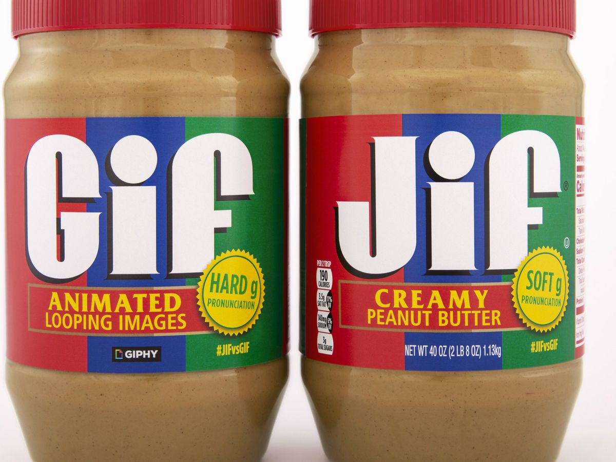 Jif parent company claims a GIF is pronounced with a 'hard G'
