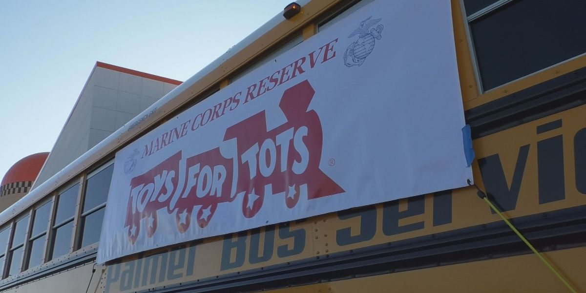 More than 1,000 items donated at Toys for Tots Stuff-A-Bus toy drive