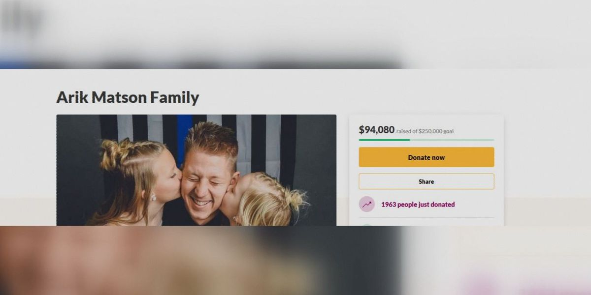 More than $94,000 raised for Waseca police officer's family