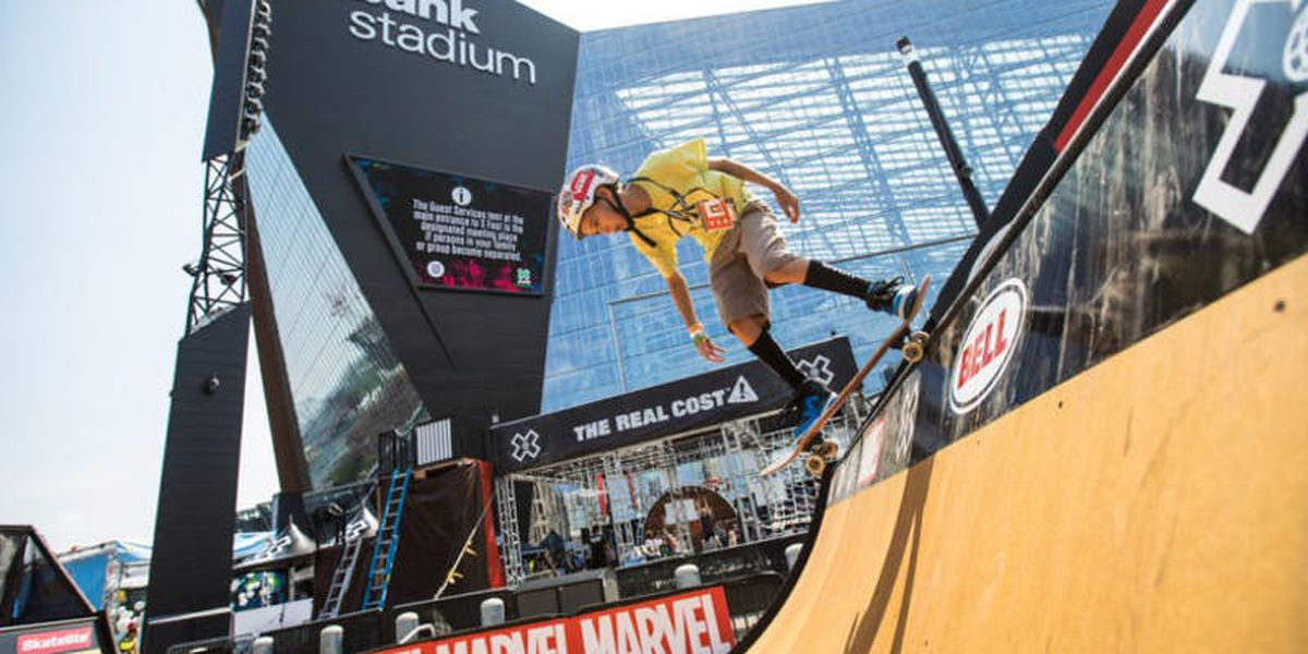 Summer X Games in Minneapolis canceled due to pandemic