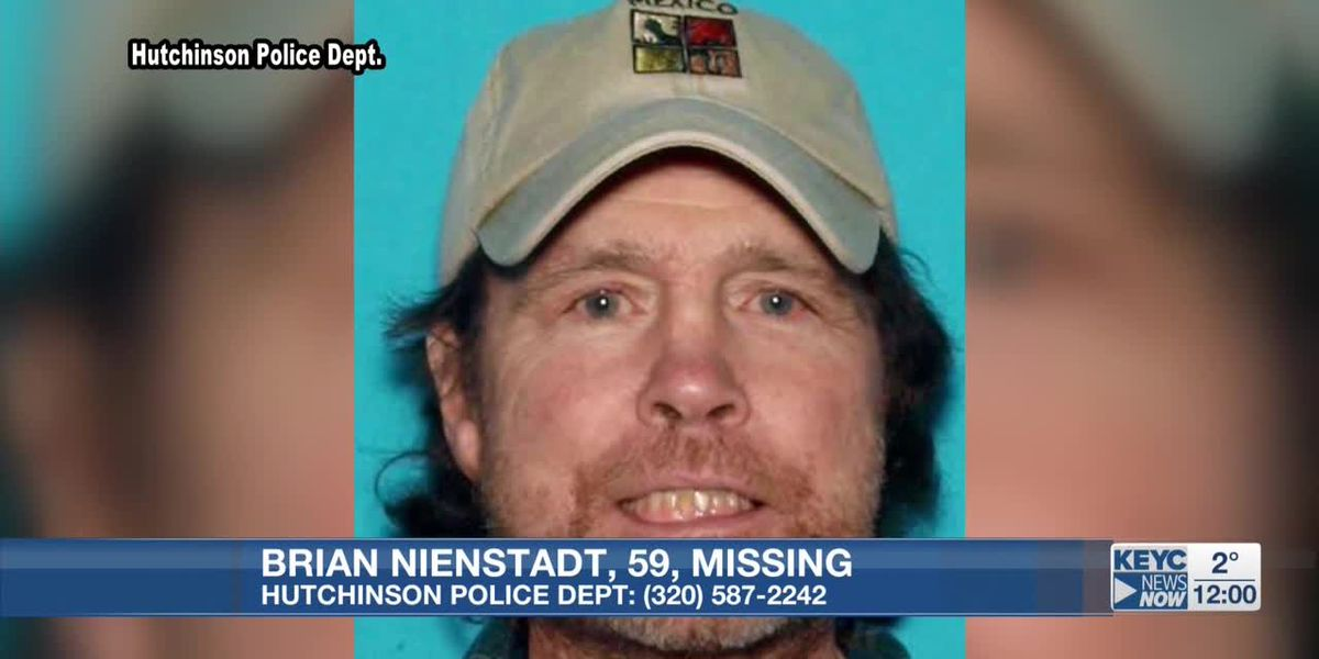 Hutchinson authorities search for missing man