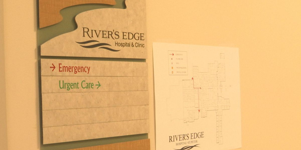 New CEO at River's Edge Hospital says he's looking forward to supporting St. Peter community