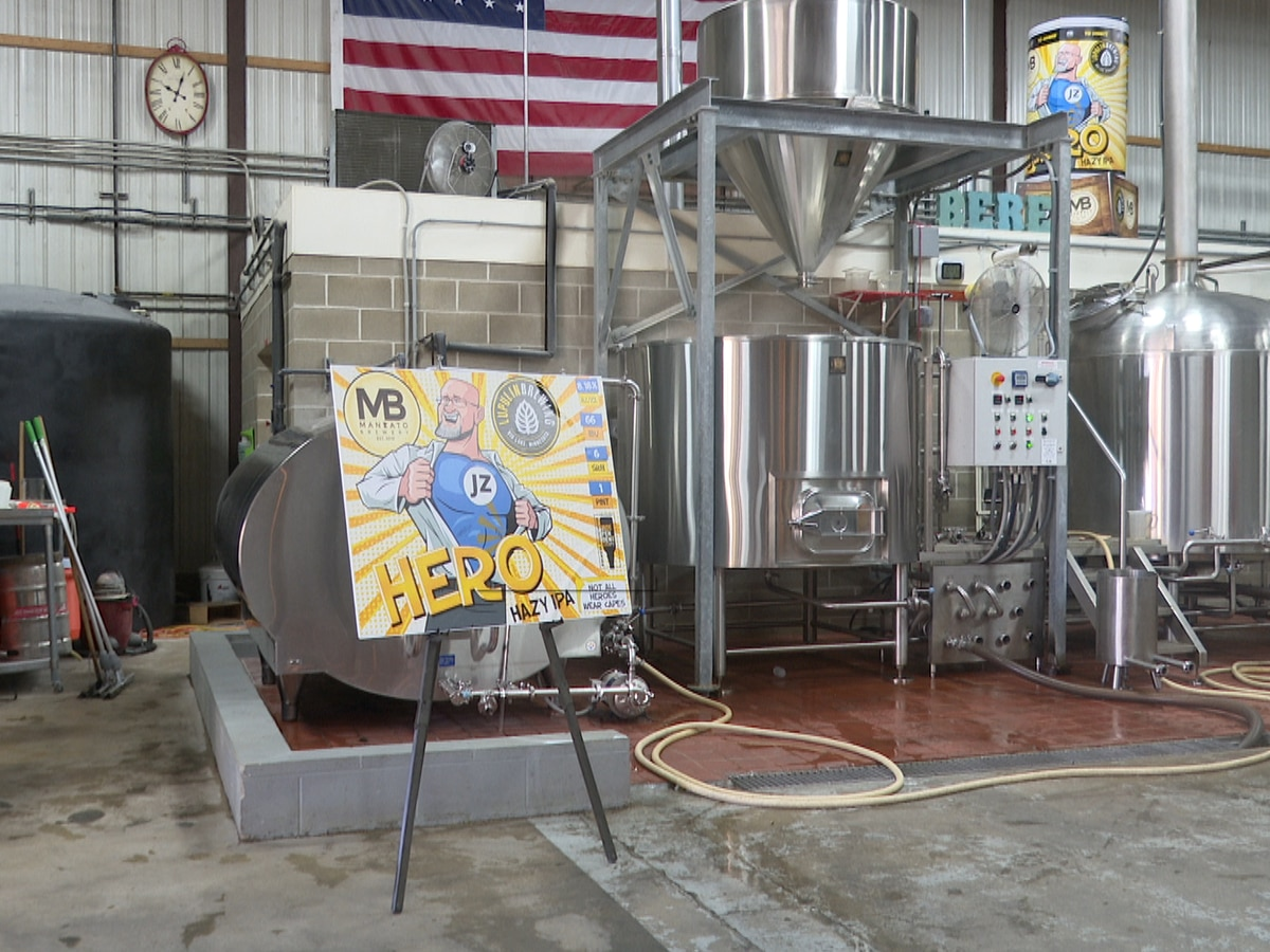 Mankato Brewery, Lupulin Brewing Company team up to honor local hero