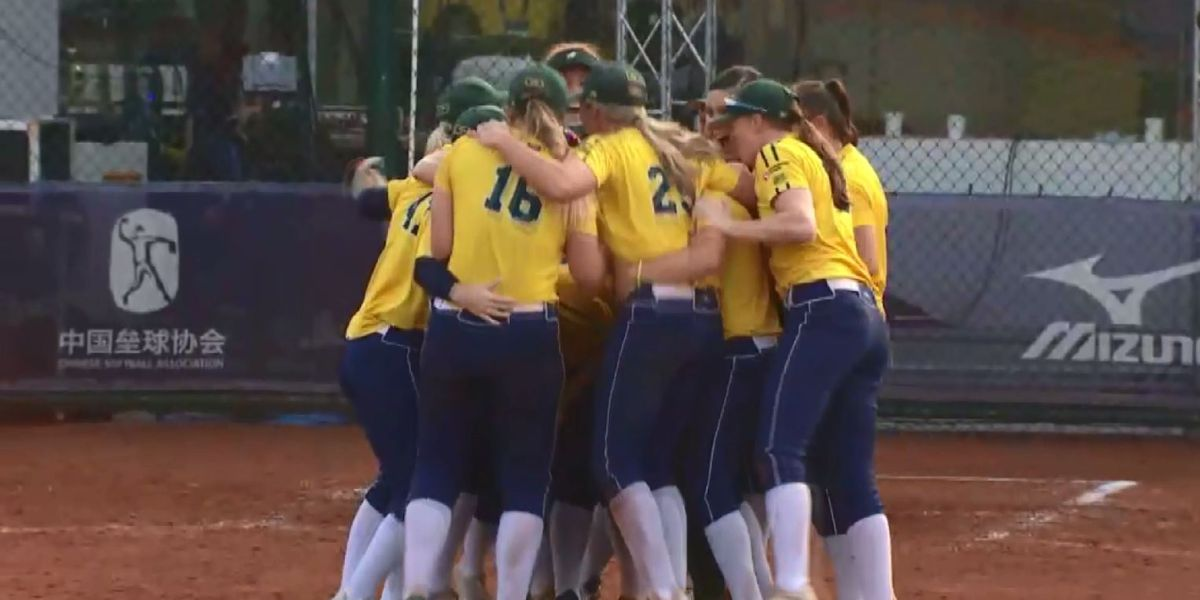 Australian National Softball team qualifies for 2020 Olympics