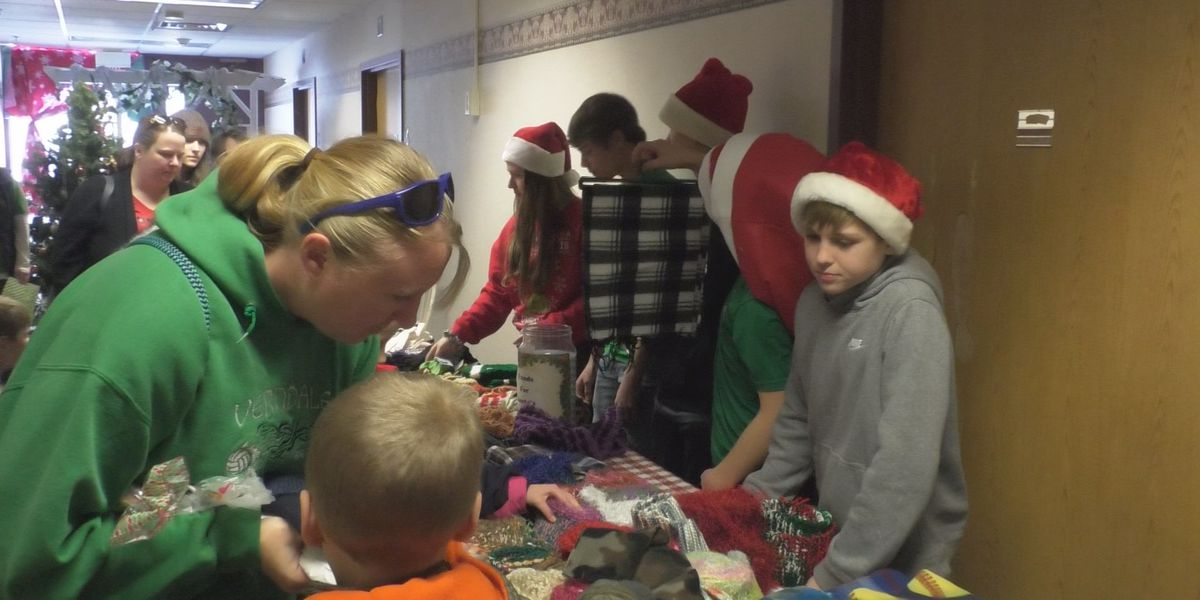 Santa's Workshop gives hundreds of children gifts