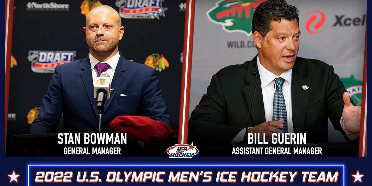 Blackhawks' Bowman named as GM of 2022 US Olympic men's team