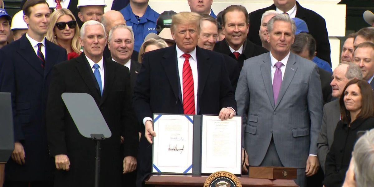 President Trump signs USMCA trade agreement, predicting increase of US ag exports