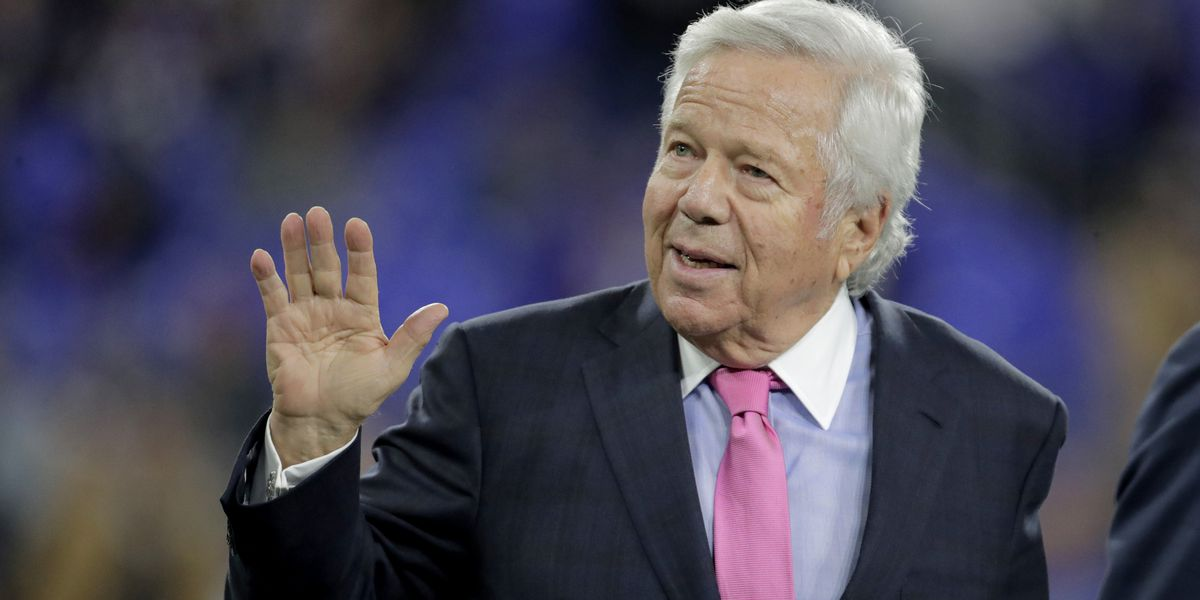 Patriots owner's prostitution case heads to appellate court