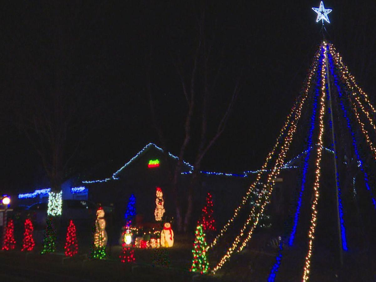 Holiday lights map locates displays across Mankato, North Mankato