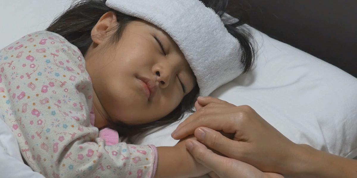Rare sickness infecting children one month after an area's COVID-19 peak