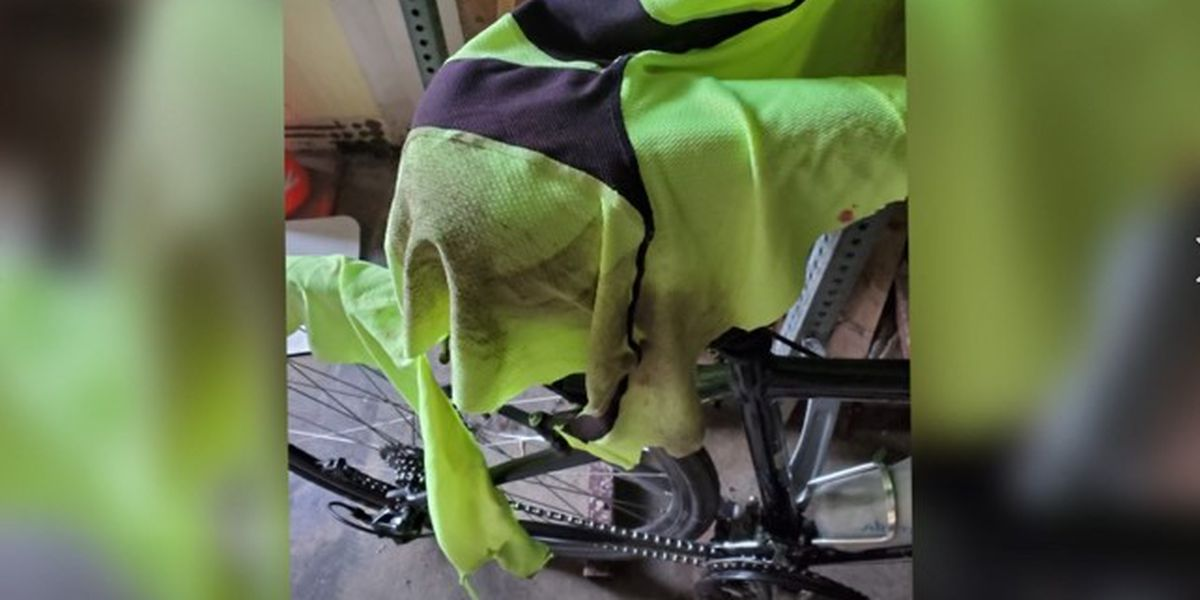 Bicyclist struck by car credits helmet for preventing life-threatening injuries