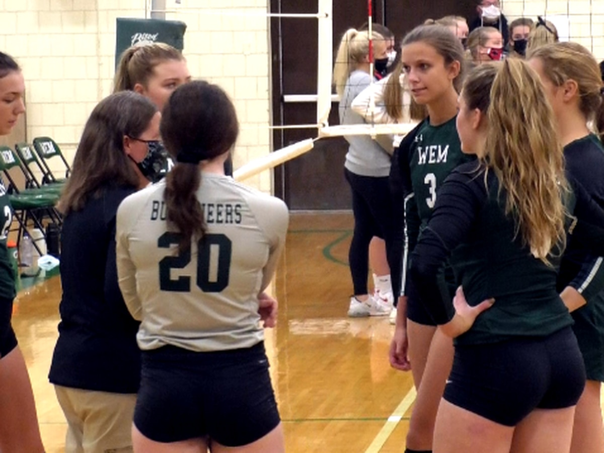 WEM sweeps 4th conference match-up of the season