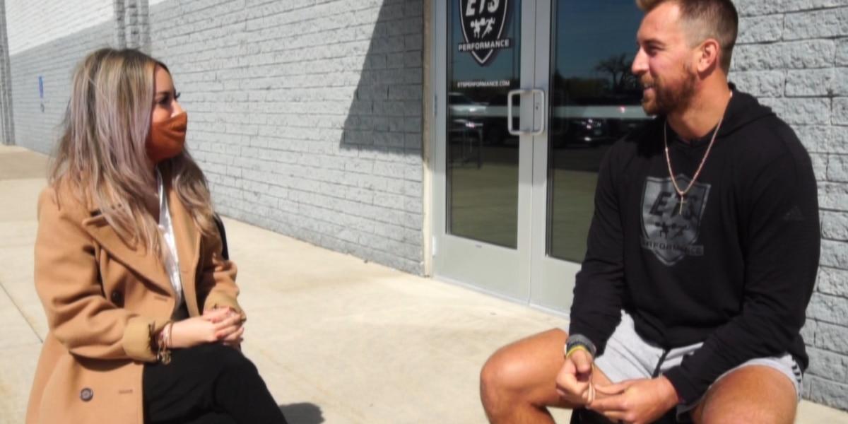 Adam Thielen talks ETS Mankato ahead of Saturday's grand opening