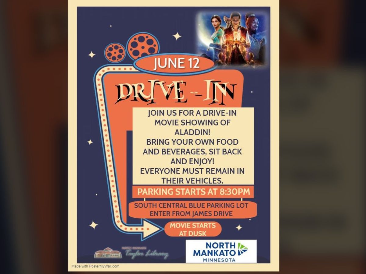 Drive-in family movie showing comes to North Mankato