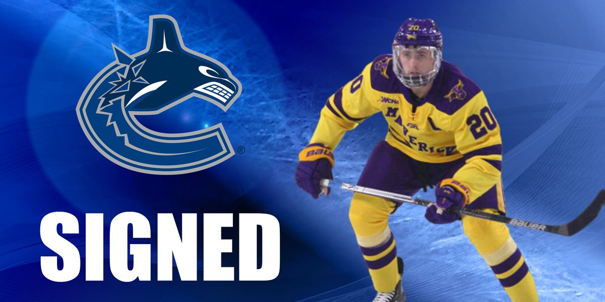 Minnesota State's Michaelis signs professional deal with Vancouver