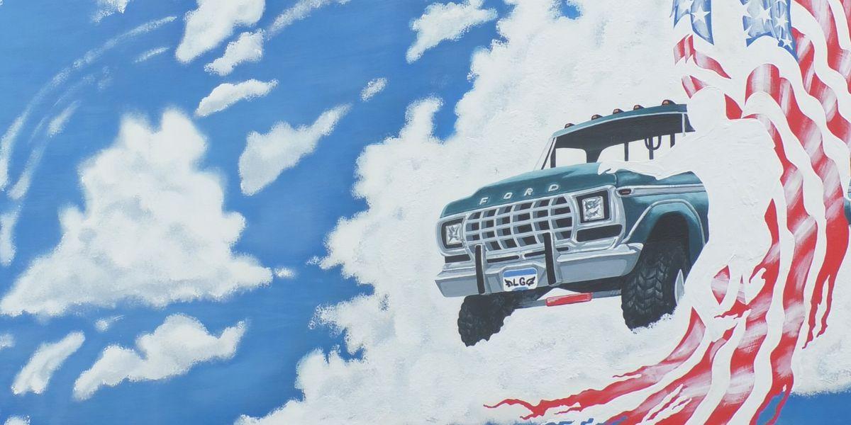 Memorial mural unveiled for Landon Gran