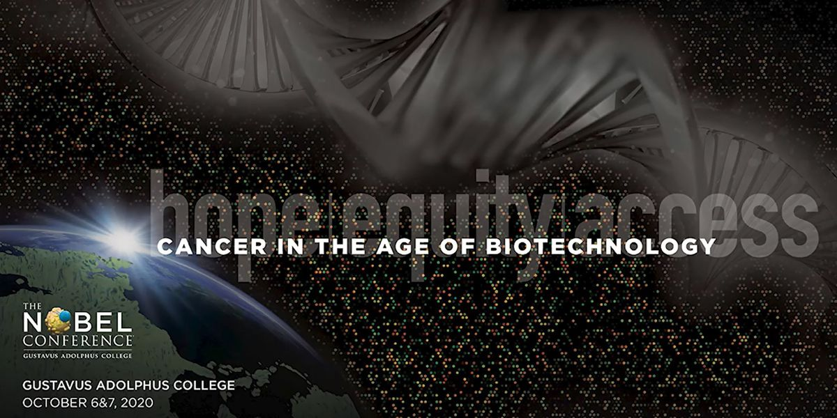 Nobel Conference to be hosted virtually; focus on 'Cancer in the age of Biotechnology'