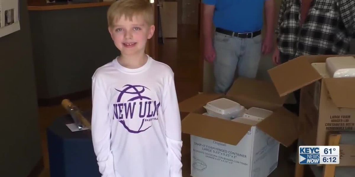 Local boy shows you're never too young to make a difference