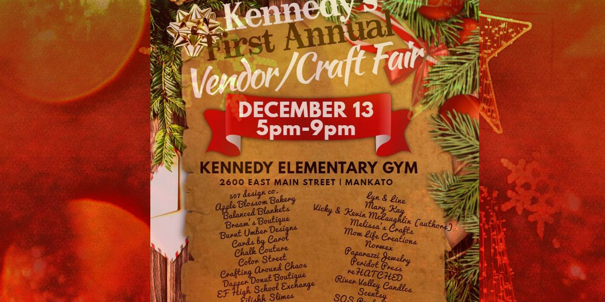 Kennedy Elementary School to host Vendor, Craft Fair