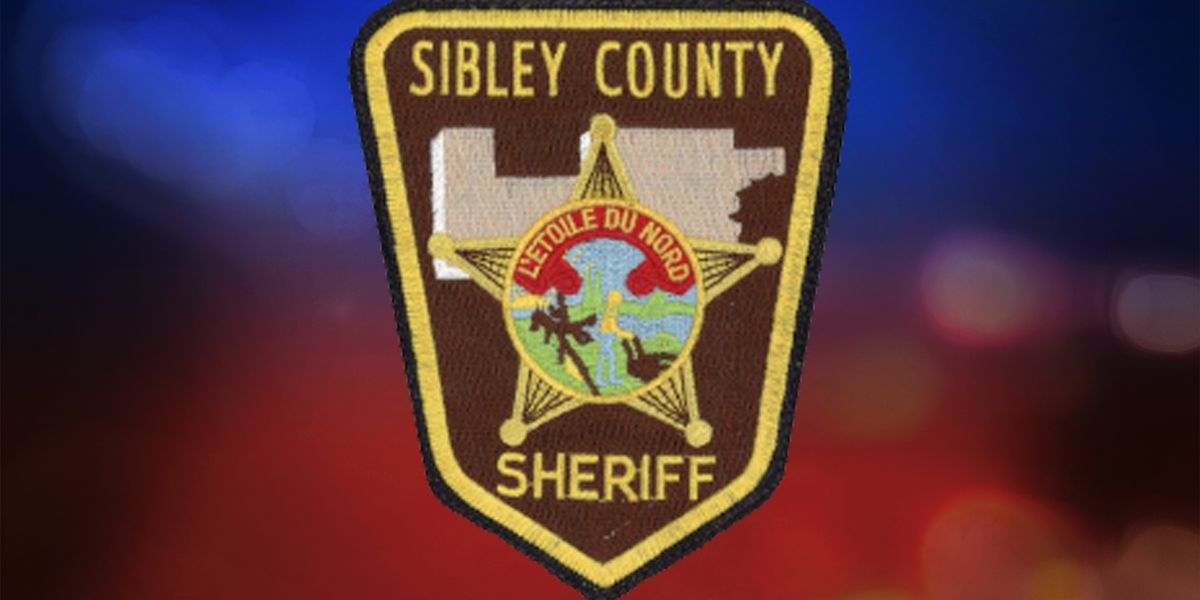 Garden City man injured in Sibley County crash