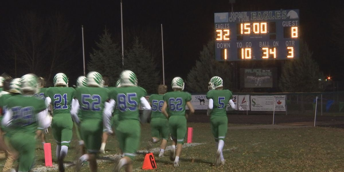 Maple River with a dominate start out of the gate over LSH