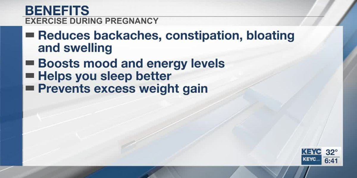 Exercising while pregnant has many benefits, according to Mayo Clinic Health System professionals