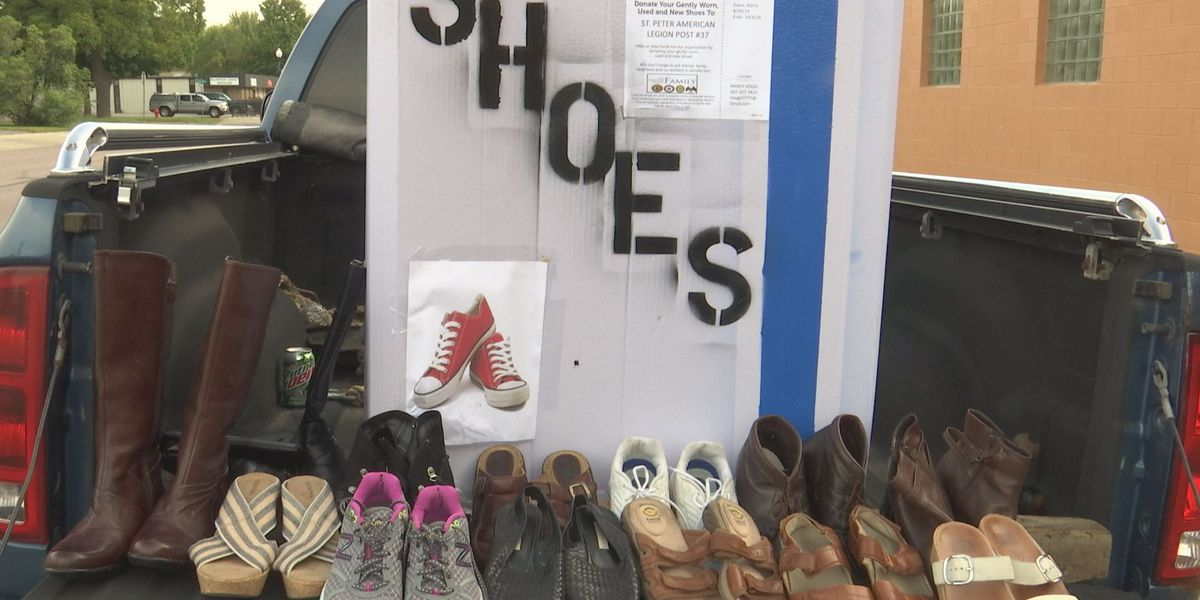 St. Peter Legion gathering shoes to raise funds for construction, aid countries in need